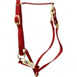 Horse And Livestock Prime - Premium Halter Chin With Snap - Red - Large