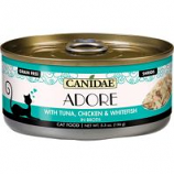 Canidae - Pure - Canidae Adore Canned Cat Food - Tuna/Chicken/Whitefish - 5.5 Oz