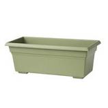 Novelty Mfg -Countryside Flowerbox-Sage-18 Inch