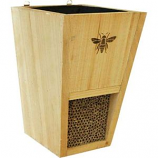 Audubon/Woodlink - Heavy Duty Cedar Mason Bee House Planter - Natural