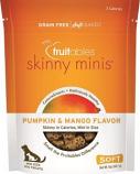 Manna Pro - Fruitables Skinny Minis Soft Chew Dog Treat - Pumpkin/Mango - 5Oz