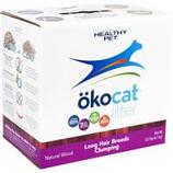Healthy Pet - Litter - Okocat Natural Wood Cat Litter, Long Hair Breeds-8.4 Pound