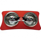 Ethical Ss Dishes - New Wave Double Diner - Red - 1 Pint