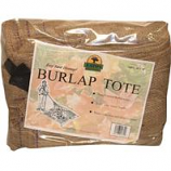 Eaton Brothers Corp. - Leaf Tote Burlap Square-Brown-10 Ft X 10 Ft