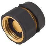 Melnor - Brass Female Quick Connector - Brass - 5 Inch