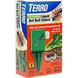 Senoret - Terro Outdoor Liquid Ant Bait Stakes-8 Pack