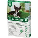 F.C.E. - Advantage Ii Dog Green - 0-10 Lb/4 Pack