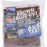 Dewitt Company - Brown/Blue Tarps (3.1Oz)-Blue/Brown-6X8