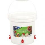 Ware Mfg - Sideways Sipper Poultry Water Bucket - White - 2.5 Gallon