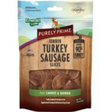 Emerald Pet Products  - Purely Prime Turkey Sausage Slices - Carrot/Quinoa - 3Oz