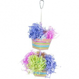 Prevue Pet Products - Prevue Baskets Of Bounty Bird Toy - Assorted