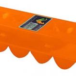 Tuff Stuff Products - Egg Carton Plastic - Orange - 12 Count