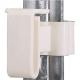 Dare Products Inc-T-Post Tape Insulator-White-25 Pack