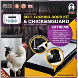My Favorite Chicken - Extreme Auto Self Lock Coop Door - 13X13X4