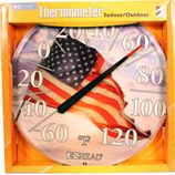 Headwind Consumer - Ezread Dial Thermometer American Flag--12.5 Inch