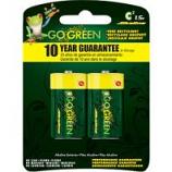 Gogreen Power - Alkaline Battery C 2 Pk - C/2 Pack