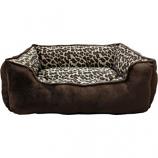 Ethical Fashion - Seasonal - Sleep Zone Cheetah Step In Bed - Cheetah - 25 Inch