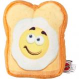 Ethical Dog - Fun Food Egg On Toast Plush Toy - Assorted - Medium