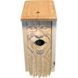 Welliver Outdoors - Welliver Carved Bluebird House Mother Earth-Natural