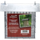 Audubon/Woodlink - Rustic Farmhouse Galvanized Suet Feeder - Galvanized