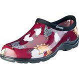 Principle Plastics Inc - Sloggers Womens Waterproof Comfort Shoe-Chicken Red-10
