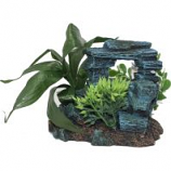 Blue Ribbon Pet Products - Exotic Environments Rock Arch with Plants - Small