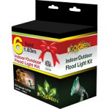 Gogreen Power - Indoor/Outdoor Floodlight Holder Kit - Green