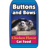 Triumph Pet - Sportsmans - Buttons And Bows Cat Food-Chicken 30/9-40 Lbs
