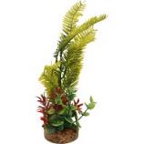 Blue Ribbon Pet Products - Color Burst Florals Blade Grass Plant - Green - Medium