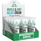 Green Roads World - GrMuscle & Joint CBD Relief Cream On The Go - 50 Mg