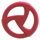 "WO - Disc - Cranberry - 8"" Diameter"