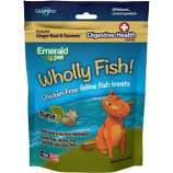 Emerald Pet Products - Wholly Fish Chicken - Free Cat Treats - Tuna Dh - 3Oz