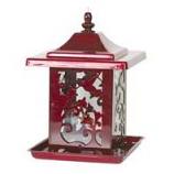 Apollo Investment Holding - Hummingbird Lantern Feeder - Red - 5.5 Lb Capacity