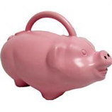 Novelty Mfg -Babs Pig Watering Can-Pink-1.75 Gal