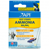 Aquarium Pharmaceuticals - Ammonia Aquarium Test Strips - 25 Count