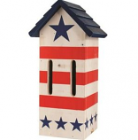 Audubon/Woodlink - Patriotic Butterfly Shelter - Red/White/Blue
