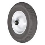 Truper Tools  - Flat Free Wheelbarrow Tire With Rim-16 Inch