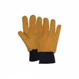 Boss Manufacturing -Cotton/Poly Chore Glove-Flannel Yellow-Xtra Large