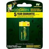 Gogreen Power - Alkaline Battery - 9 Volt