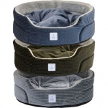 Dallas Mfg Company - Cozy Pet Oval Pet Bed With Pillow - Assorted - 19 In