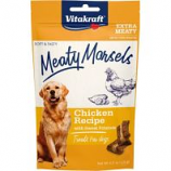 Vitakraft Pet - Meaty Morsels Dog Treat - Chicken/Sweet Potato - 4.2 Oz