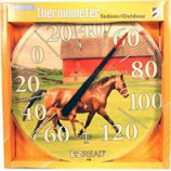 Headwind Consumer - Ezread Dial Thermometer Two Horses-Horse & Foal-12.5 Inch