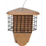 Woodstream Wildbird - Perky Pet Bamboo Triple Delight Suet Feeder - Natural - 3 Cakes