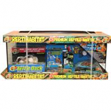 Zoo Med Laboratories -  Reptihabitat Aquatic Turtle Kit - Black - 20 Gallon