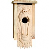 Welliver Outdoors - Welliver Outdoors Bear Carved Bluebird House