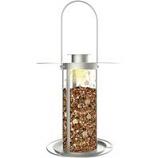 Woodstream Wildbird - Perky Flower Solar Lantern Feeder-Silver-3.5 lb