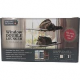 K&H Pet Products - Creative Solutions Double Window Lounger - Natural - 12Inx23In