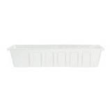 Novelty Mfg -Poly-Pro Flower Planter Liner-White-36 Inch
