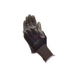 Lfs Glove P - Bellingham Nitrile Tough Gloves - Black - Large