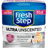 Clorox Petcare Products - Fresh Step Ultra Unscented - Unscented - 42 Lb